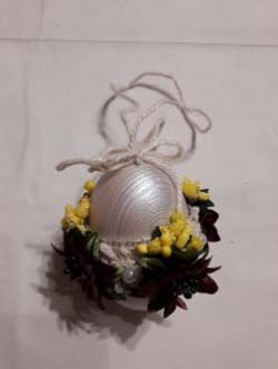 """Яйцо  украшено на Пасху """"Писанка"""""""