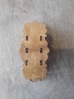 """Необычная деревянная салфетница """"Бабочка"""""""