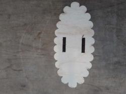 Необычная деревянная салфетница