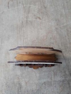 """Необычная деревянная салфетница """"Хатка"""""""
