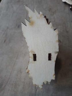 """Необычная деревянная салфетница """"Лист клена"""""""