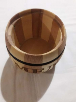 Бочечок для специй деревянная