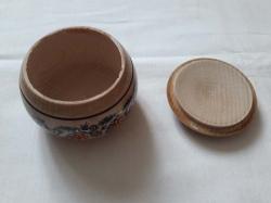 Бочка деревянная 6х7.5 см