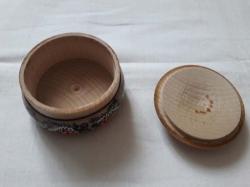 Бочка деревянная 4.5х7 см
