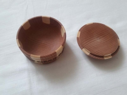 Бочка деревянная 6.5х4.5 см