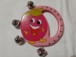 Красочная игрушка колокольчик погремушка