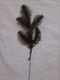 Новогодние искусственные литые ветки №2