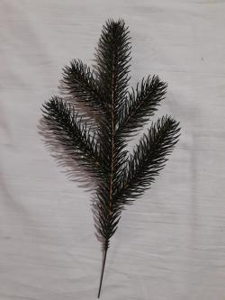 Новогодние искусственные литые ветки №3