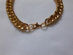 Браслет мужской золото