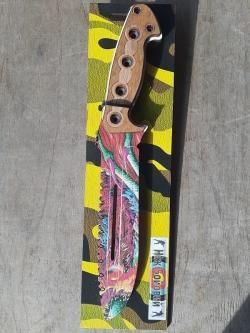 Охотничий нож Деревянный