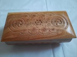 Шкатулка деревянная 21-8 см