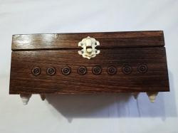 Шкатулка деревянная 21-9.5 см