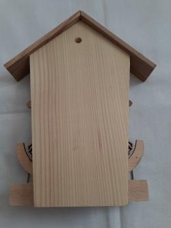 Ключница из дерева ручной работы