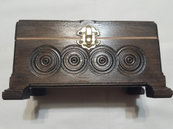 Шкатулка деревянная резьба по дереву ручной работы