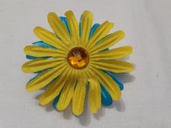 Сине-желтый бант №2