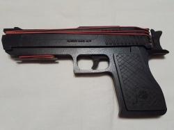 Деревянный пистолет №3