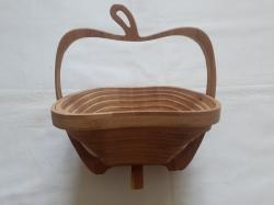Фруктовница деревянная 20 см