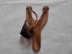 Рогатка деревянная бамбуковая