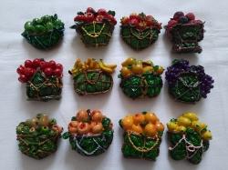 Магнит 12 фруктов
