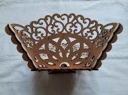 Фруктовница деревянная (Квадратная)