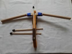 Арбалет деревянной 60 см