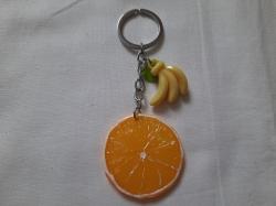 """Брелок сувенир """"Апельсин банан"""""""