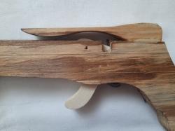 Деревянный арбалет 53 см