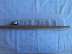 Доска с ручкой для подачи стаканов и крутилкой