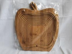 """Деревянная фруктовница """"Яблока""""  30 см"""