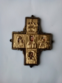 Икона автомобильная-крест