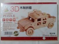 3D пазл машинка