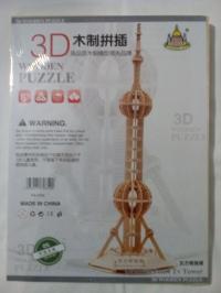 3D пазл Останкинская башня