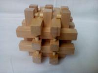 Головоломка деревянная с 18 брусков