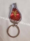Брелок для ключей в виде кусачек с открывашкой со знаком зодиака