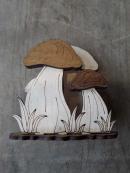 """Необычная деревянная салфетница """"Гриб"""""""