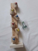 """Деревянная игрушка """"Весёлые ведёрки"""""""
