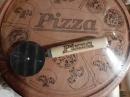 Доска для пиццы с резаком