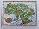 Магнит карта Украины