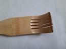 Чесалка для спины на два ролика деревянная