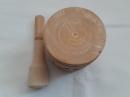 Ступка деревянная резная