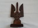 Деревянная статуэтка трезубец 15 см