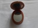 Маленькое деревянное мини-зеркало 8 см