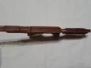 Деревянный автомат стреляющий резинками