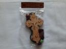 Крест деревянной 20 см