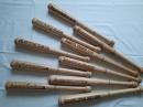 Бита деревянная с надписью