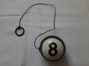 Бильярдный шарик на резинке 42 см