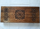 Деревянные нарды резьба по дереву ручной работы 55 см