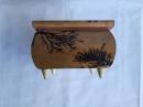 Шкатулка деревянная 11.5х11.5 см