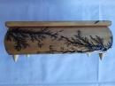 Шкатулка деревянная 21х11см