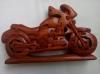 Деревянный пазл мотоцикл